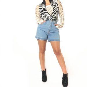 ¡¡💕2/$20!! Squeeze High-Waist Jean Shorts TPIB
